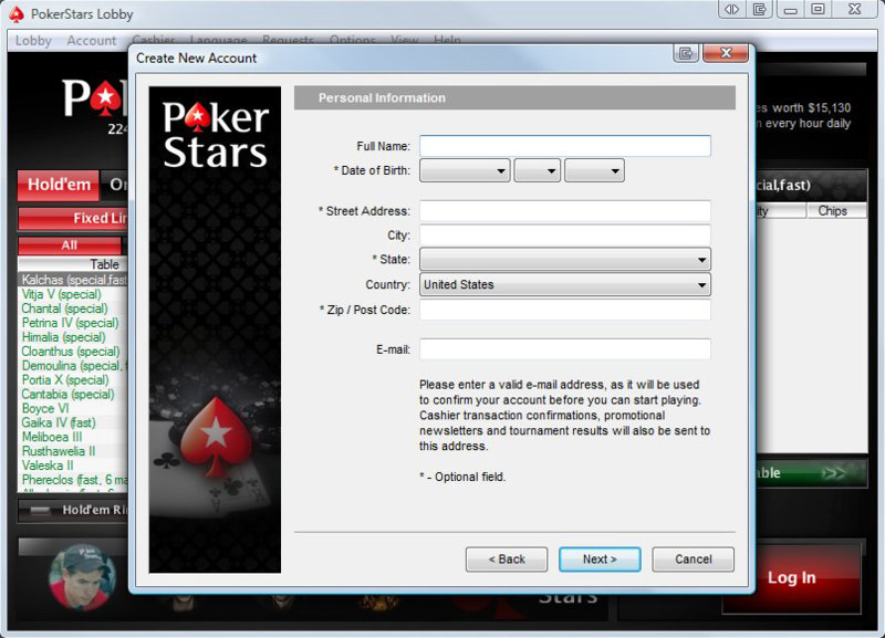 pokerstars casino code
